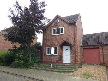 3 Bedrooms Detached House for sale in Lynmouth Crescent, Furzton, Milton Keynes, Buckinghamshire