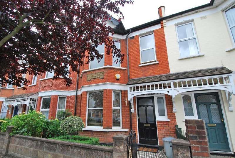 3 Bedrooms Terraced House for sale in Devonshire Road, Ealing, London, W5 4TS