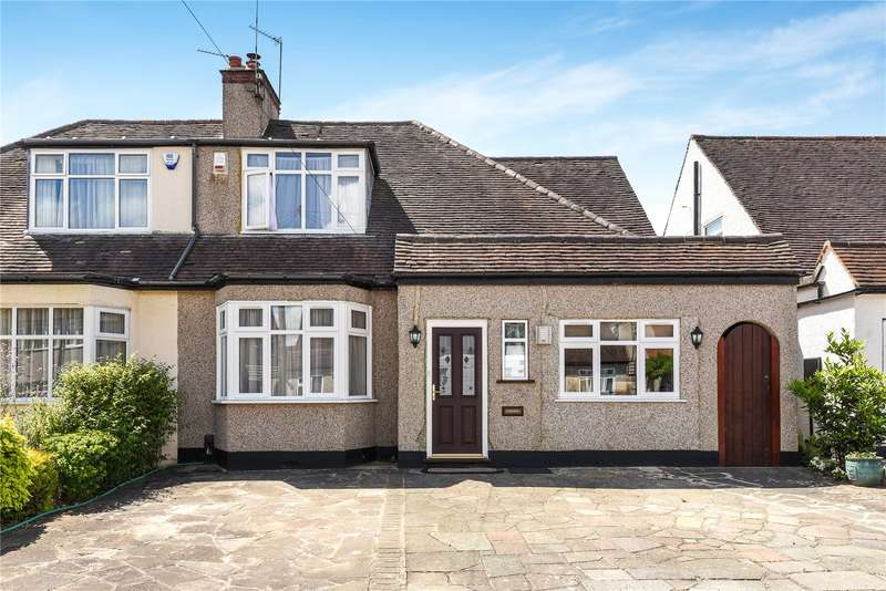 3 Bedrooms Semi Detached House for sale in West Avenue, Pinner, Middlesex, HA5