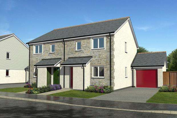 2 Bedrooms Semi Detached House for sale in Gwel Kann, Trevelyan Road, Illogan, Redruth