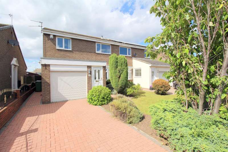3 Bedrooms Semi Detached House for sale in Ashberry Grove, Fulwell, Sunderland, SR6 0HU