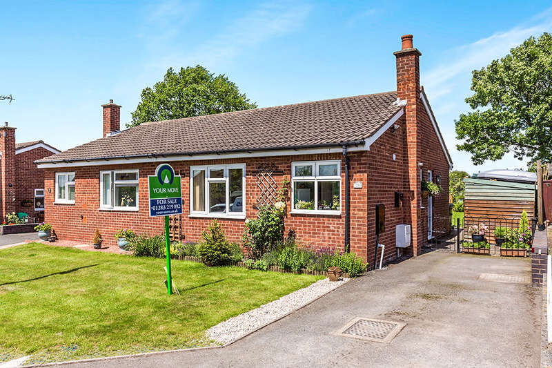 2 Bedrooms Semi Detached Bungalow for sale in Edward Street, Hartshorne, Swadlincote, DE11