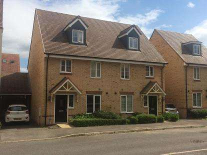 3 Bedrooms Semi Detached House for sale in Grenada Crescent, Newton Leys, Bletchley, Milton Keynes