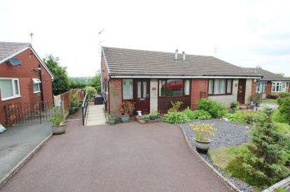 2 Bedrooms Bungalow for sale in Ottershaw Gardens, Pleckgate, Blackburn, Lancashire, BB1