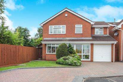 4 Bedrooms Detached House for sale in Smiths Way, Water Orton, Birmingham, Warwickshire