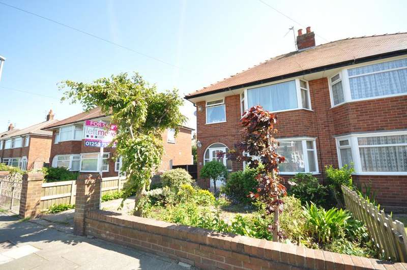 3 Bedrooms Semi Detached House for sale in Rossington Avenue, Bispham, Blackpool, Lancashire, FY2 0DP