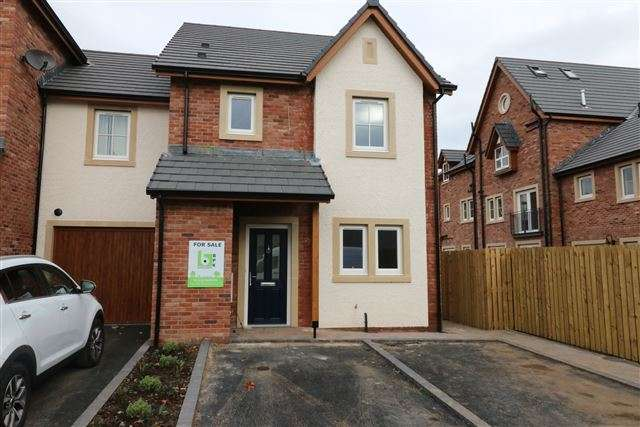 3 Bedrooms Town House for sale in Hazel Grove, Carlisle, Cumbria, CA1 2FF