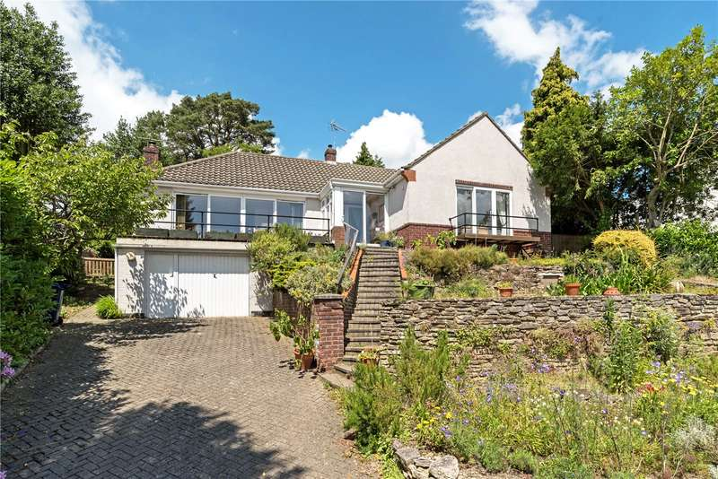 5 Bedrooms Detached Bungalow for sale in Lodge Hill Road, Lower Bourne, Farnham, Surrey, GU10