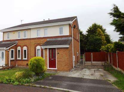 3 Bedrooms Semi Detached House for sale in Canterbury Close, Heaton With Oxcliffe, Morecambe, Lancashire, LA3