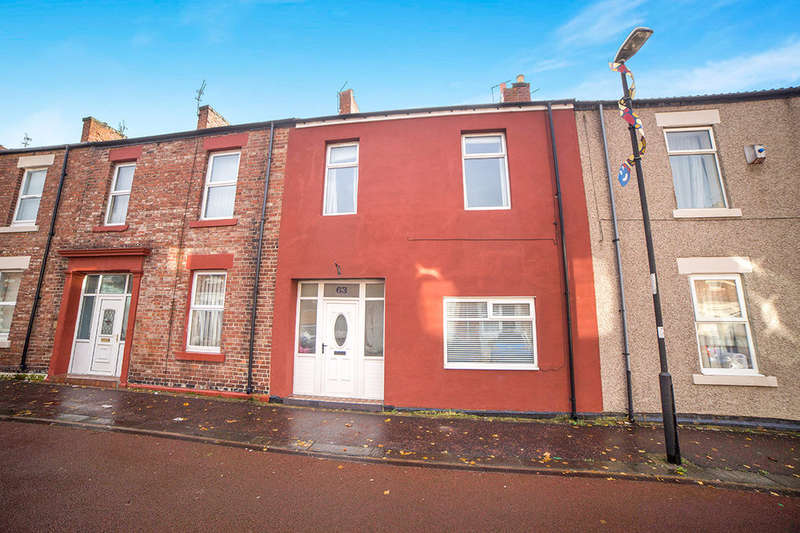 4 Bedrooms Property for sale in Cardonnel Street, North Shields, NE29