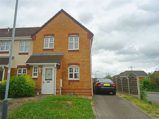3 Bedrooms End Of Terrace House for sale in Haselbury Corner, Heritage Park, Nuneaton, Warwickshire
