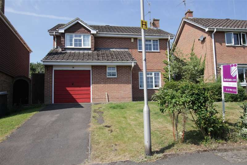 4 Bedrooms Detached House for sale in Highworth Way, Tilehurst, Reading, RG31
