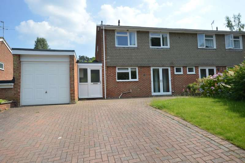 4 Bedrooms Semi Detached House for sale in Byron Avenue, Winchester, SO22