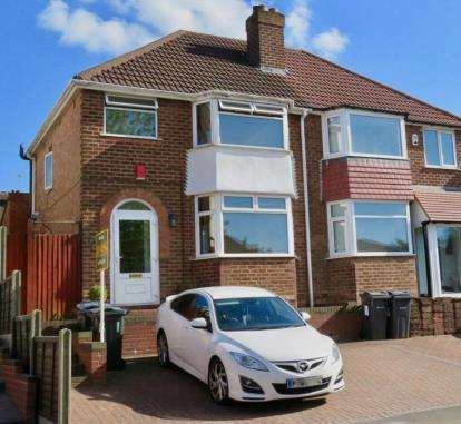 3 Bedrooms Semi Detached House for sale in Green Acres Road, Birmingham, West Midlands