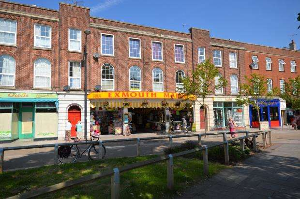 3 Bedrooms Flat for sale in The Strand, Exmouth, Devon