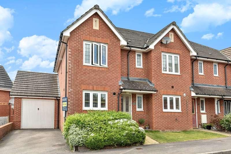 3 Bedrooms End Of Terrace House for sale in Rycroft Meadow, Beggarwood, Basingstoke, RG22