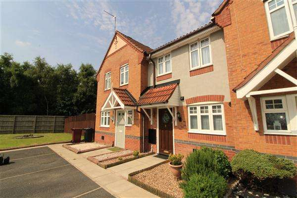 2 Bedrooms Town House for sale in Dickens Close, Kirkby