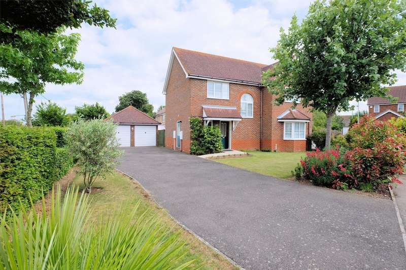 4 Bedrooms Detached House for sale in Blackberry Way, Chestfield, WHITSTABLE, Kent
