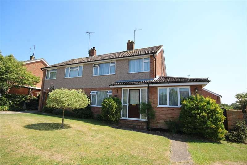 3 Bedrooms Semi Detached House for sale in Longfield Road, Twyford, RG10