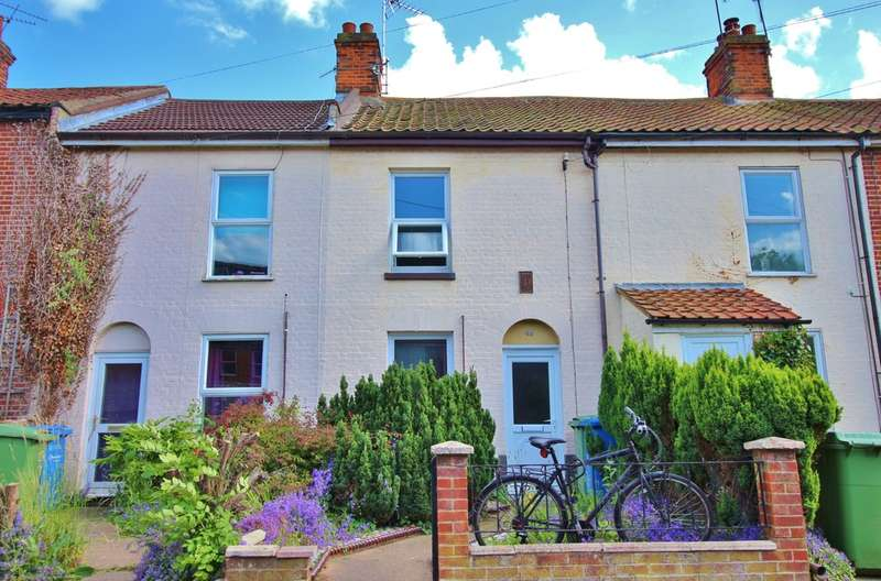 2 Bedrooms Terraced House for sale in Lawson Road, Norwich