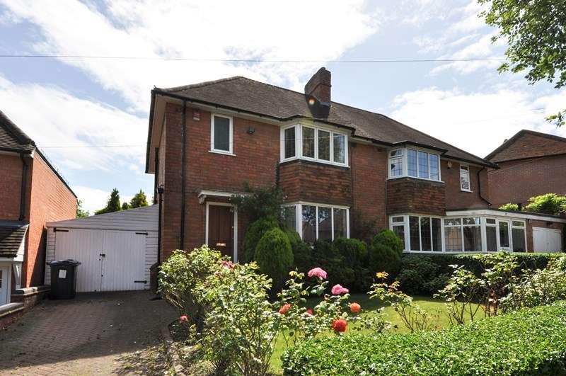 3 Bedrooms Semi Detached House for sale in Cornfield Road, Bournville Village Trust, Northfield