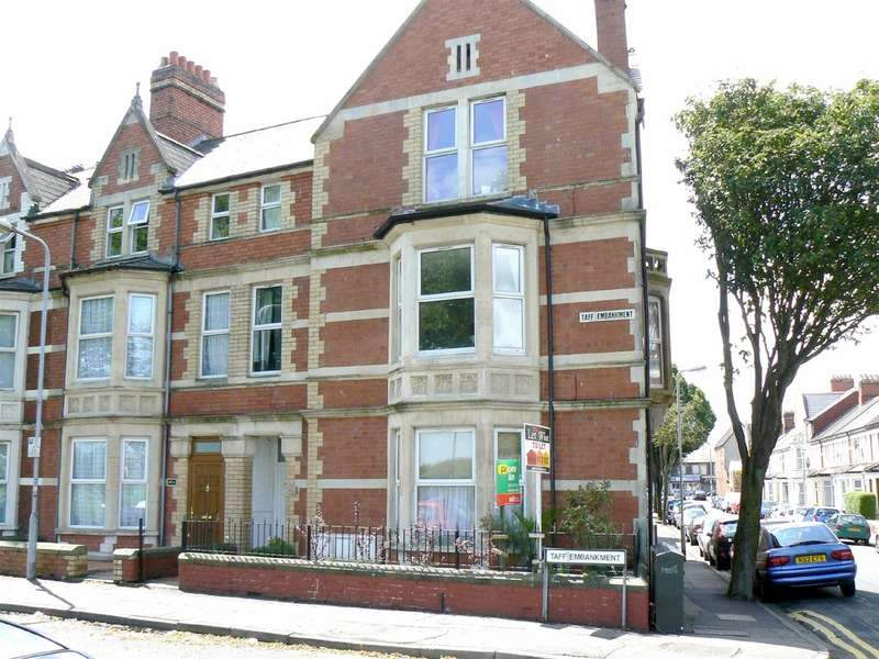 2 Bedrooms Flat for sale in Taff Embankment, Cardiff