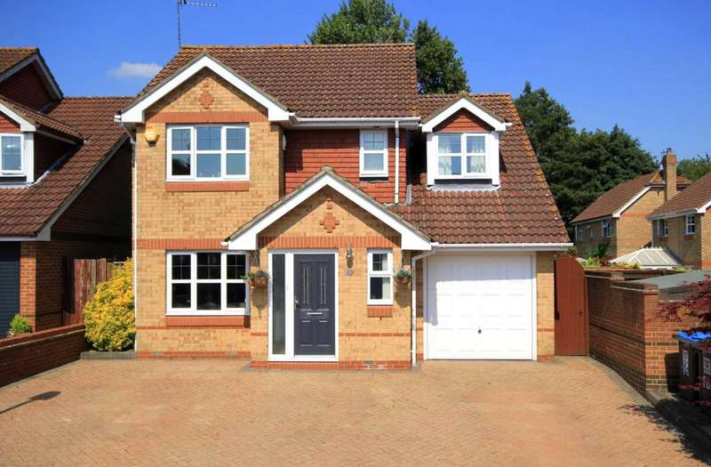 4 Bedrooms Detached House for sale in NEARLY 1350 SQ FT 4 BED MODERN DETACHED HP1