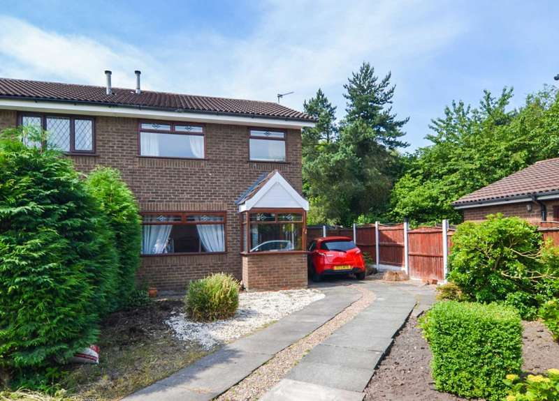 3 Bedrooms Semi Detached House for sale in Keyes Close, Birchwood