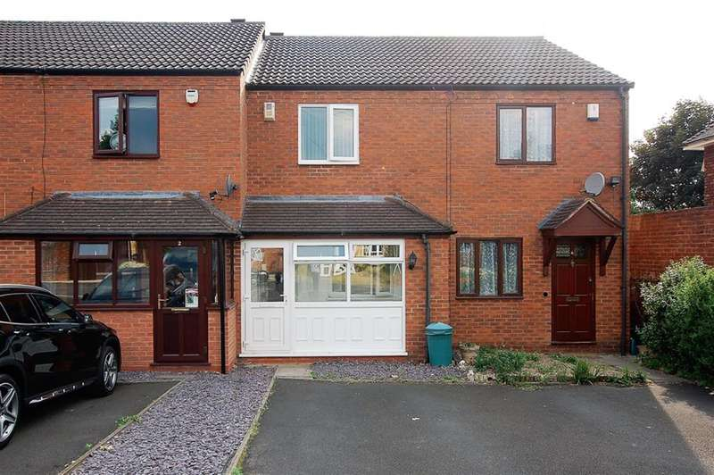 2 Bedrooms Terraced House for sale in Brookland Mews, George Street, Wordsley, DY8 5TR