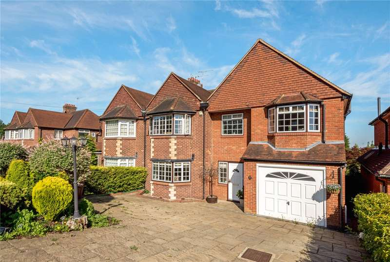 5 Bedrooms Semi Detached House for sale in Hillside, Banstead, Surrey, SM7