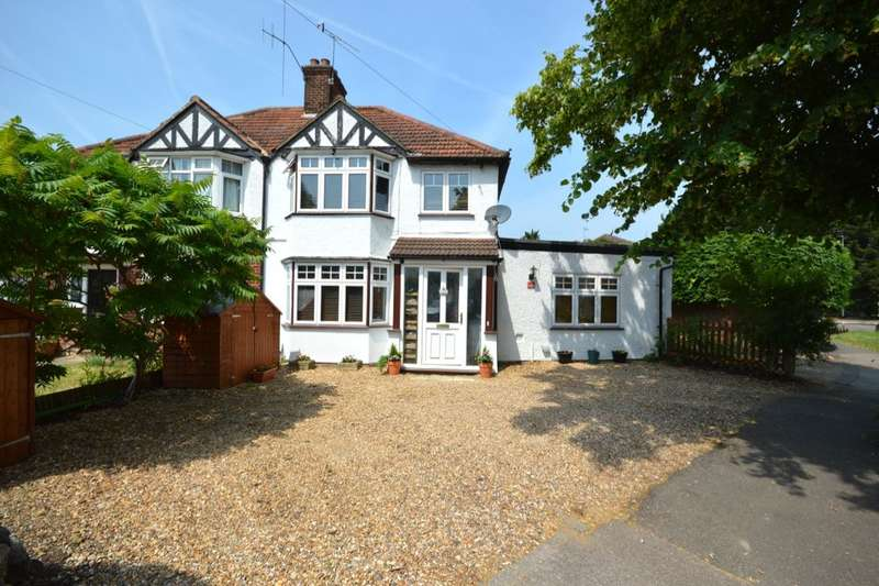 4 Bedrooms Semi Detached House for sale in Leggatts Way, Watford, WD24