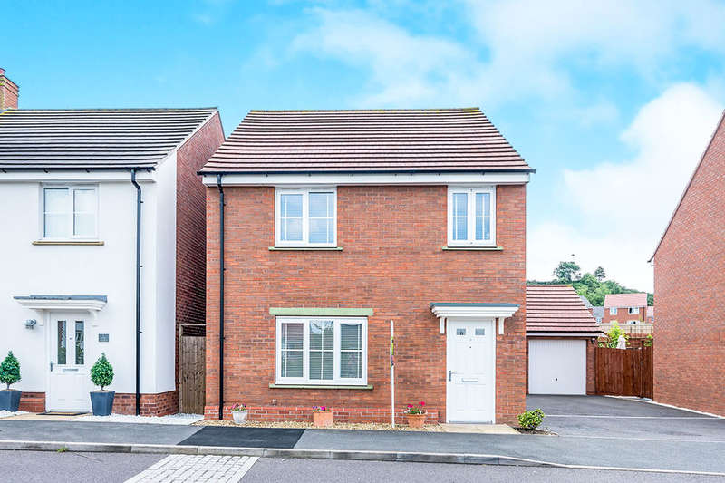 4 Bedrooms Detached House for sale in The Ashes, St. Georges, Telford, TF2
