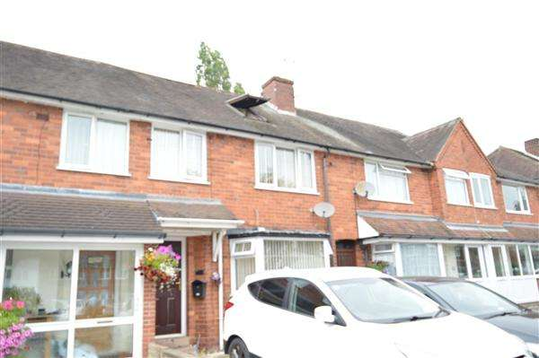 4 Bedrooms Terraced House for sale in Chantrey Crescent, Pheasey Great Barr, Great Barr, Birmingham