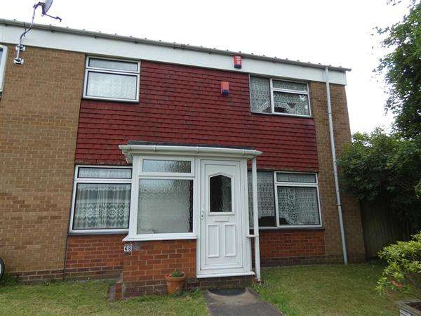 3 Bedrooms End Of Terrace House for sale in Giles Close, Stechford, Birmingham