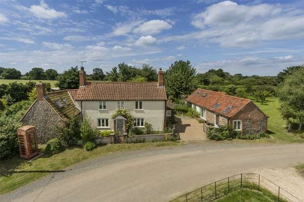 4 Bedrooms Detached House for sale in The Old Plough, Wellingham