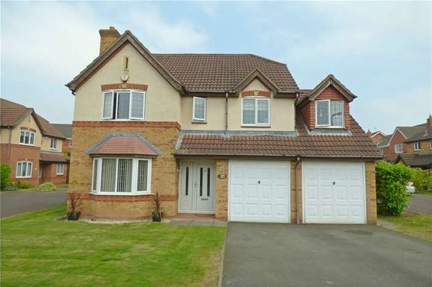 5 Bedrooms Detached House for sale in Abbotsbury Way, Maple Park, Nuneaton, Warwickshire