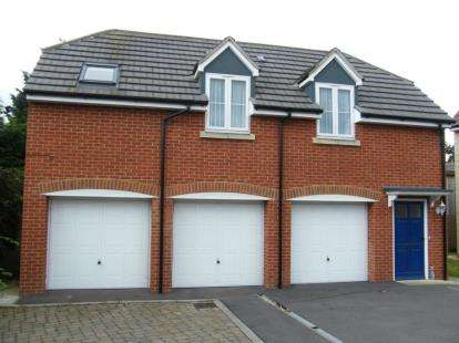 1 Bedroom Flat for sale in Old Dairy Close, Upper Stratton, Swindon, Wiltshire