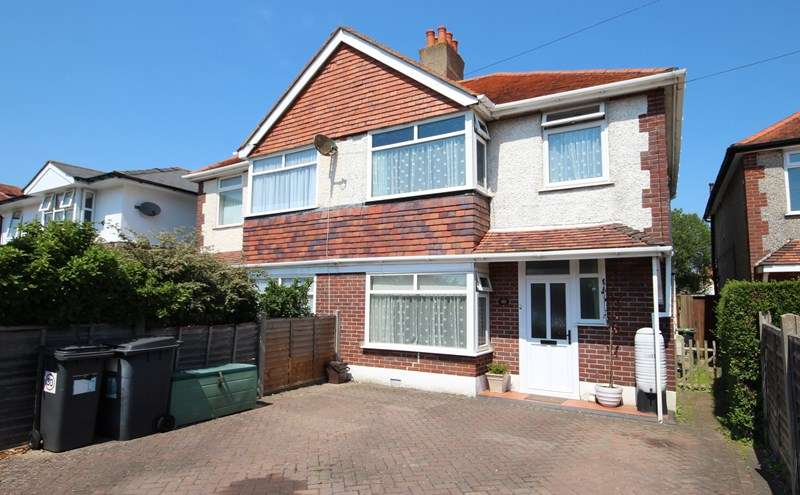 3 Bedrooms Semi Detached House for sale in Cranleigh Road, Southbourne, Bournemouth