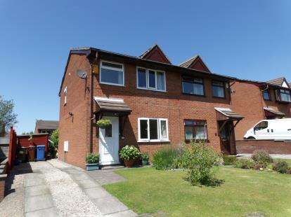 3 Bedrooms Semi Detached House for sale in Long Meadows, Chorley, Lancashire, PR7