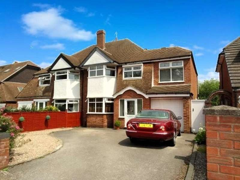5 Bedrooms Semi Detached House for sale in Kingslea Road, Solihull