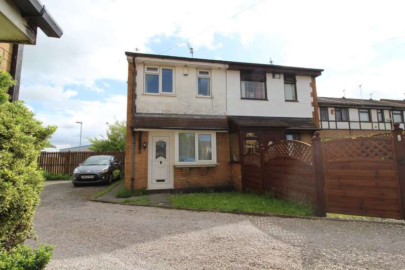 2 Bedrooms Semi Detached House for sale in Lock Close, Heywood