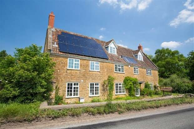 6 Bedrooms Detached House for sale in Clanville, Castle Cary