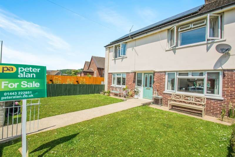 2 Bedrooms Ground Flat for sale in Heol Johnson, Talbot Green, Pontyclun