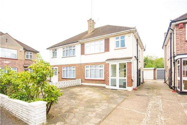 3 Bedrooms Semi Detached House for sale in Brookfield Crescent, KENTON, Middlesex, HA3 0UT