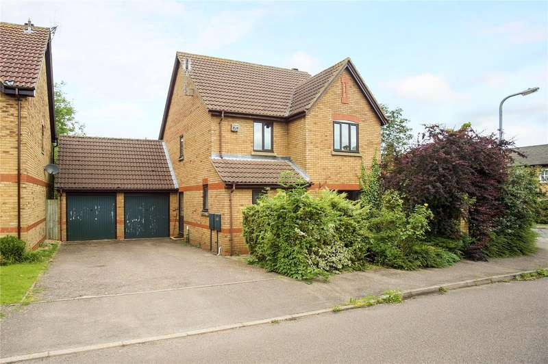 4 Bedrooms Detached House for sale in Cheney Gardens, Middleton Cheney, Banbury, Northamptonshire, OX17