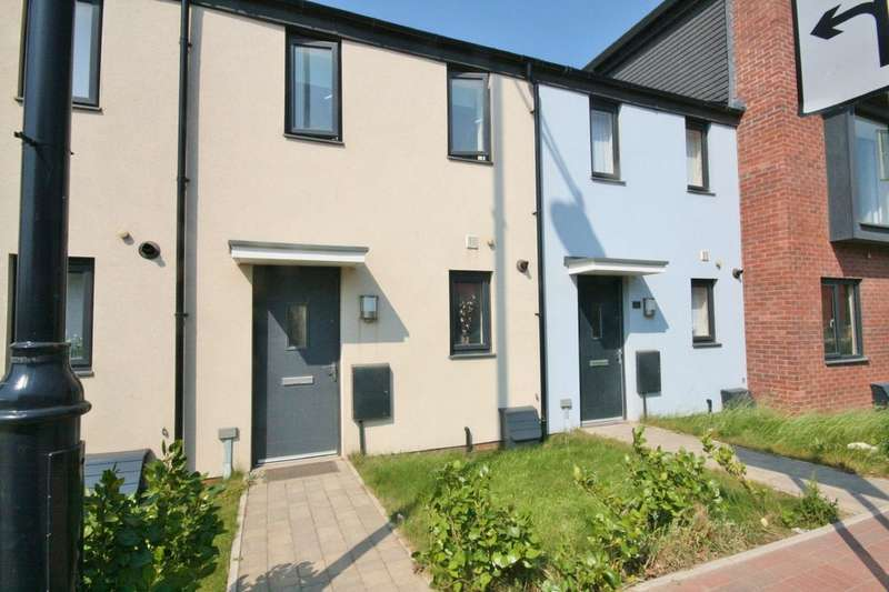 2 Bedrooms Terraced House for sale in Fford y Mileniwm, Barry, Vale of Glamorgan. CF62 5BD