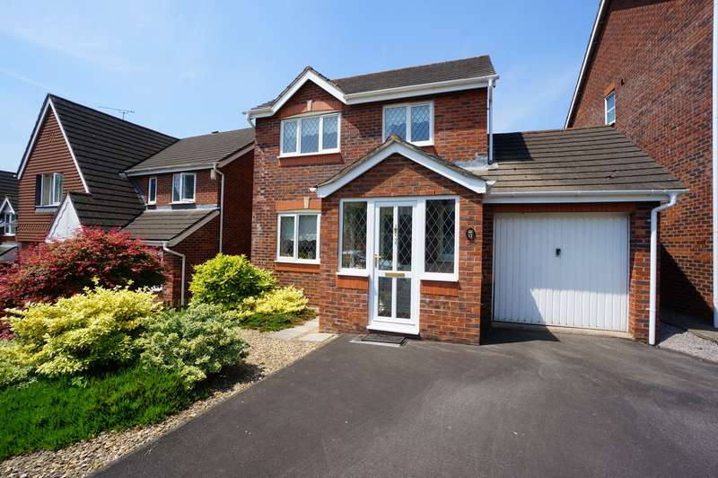 3 Bedrooms Detached House for sale in Bethesda Close, Rogerstone, NEWPORT, NP10