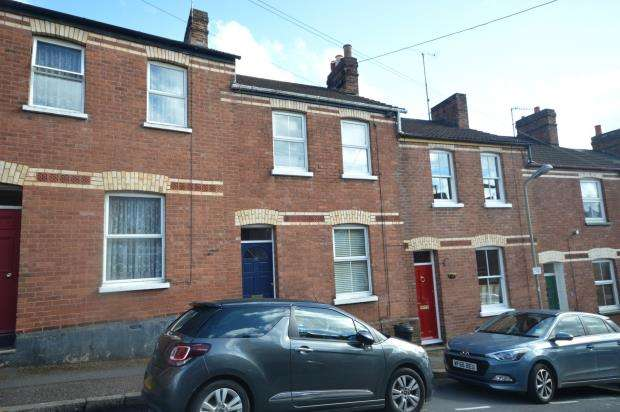 2 Bedrooms Terraced House for sale in Radford Road, St Leonards, Exeter