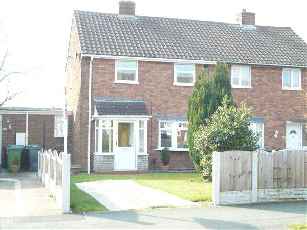 2 Bedrooms Semi Detached House for sale in Merrick Road, Wednesfield, Wednesfield