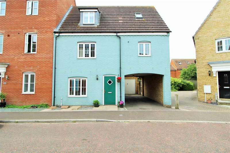 3 Bedrooms Town House for sale in Springham Drive, Myland, Colchester